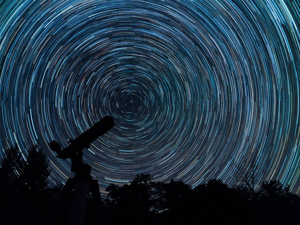 Star Trails (photo by Carol Santulis)