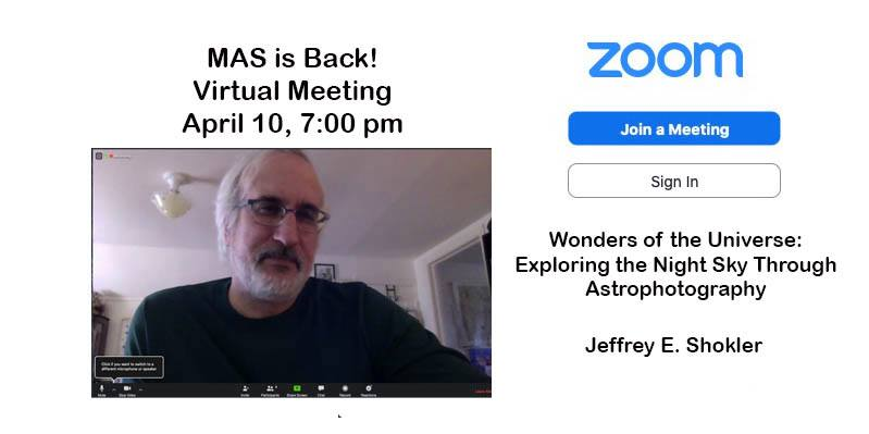 On-Line Monthly Meeting - Members Only