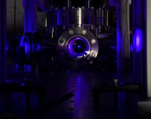 Image of an optical atomic clock